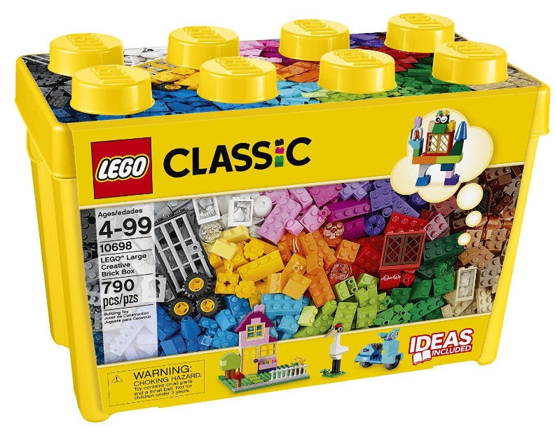 Konstruktorius LEGO® Classic 10698 Didelė kaladėlių dėžė