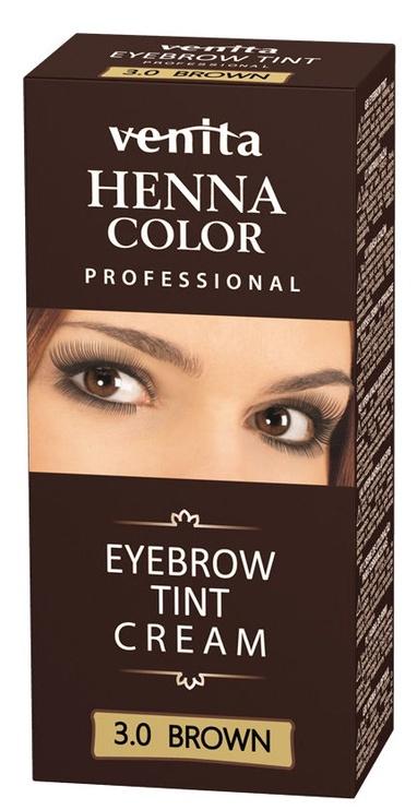 Venita Henna Eyebrow Tint Cream 15g Brown