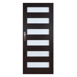 Vidaus durų varčia Everhouse Genua, wenge, dešininė, 64.4x203.5 cm