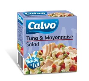 Tuno salotos su švelniu padažu Calvo, 150 g