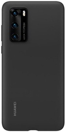 Huawei Silicone Back Case For Huawei P40 Black