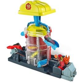 Автомобильная трасса Mattel Hot Wheels Super City Fire House Rescue Play Set GJL06