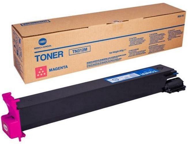 Lazerinio spausdintuvo kasetė Konica Minolta TN-312 M Toner Cartridge Magenta