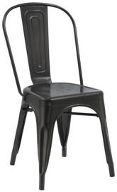 Стул для столовой Signal Meble Loft Black Matte, 1 шт.