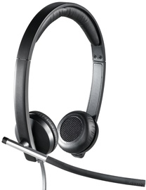 Ausinės Logitech H650e Black