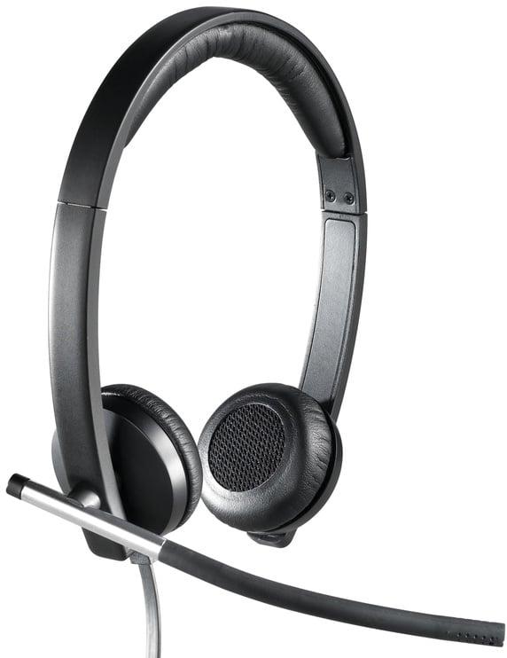 Ausinės Logitech USB Headset Stereo H650e