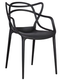 Home4you Chair Butterfly Black 30027
