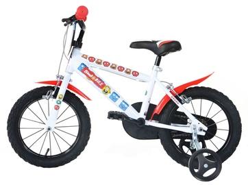 "Vaikiškas dviratis Bimbo Bike 77323 16"" White Red"
