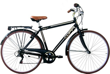 Coppi City Bike Man 28'' Steel 51 Black