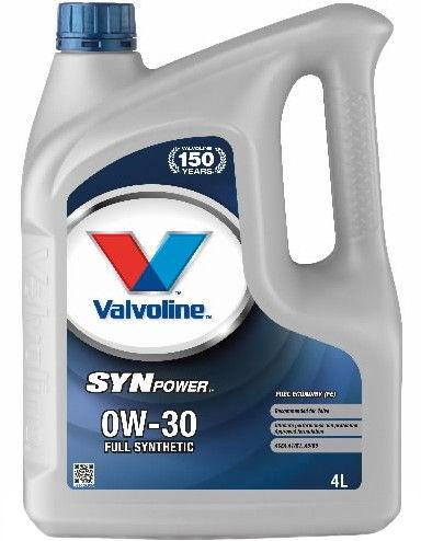 Valvoline SynPower FE 0w30 Engine Oil 4L