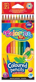 Colorino Kids Coloured Pencils Hexagonal 12pcs 14687PTR