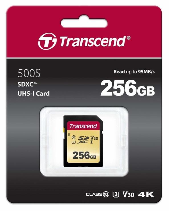 Transcend 500S 256GB SDXC CL10 UHS-I TS256GSDC500S