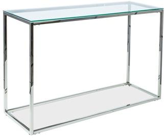 Консольный стол Signal Meble Hilton C Silver, 1200x400x780 мм