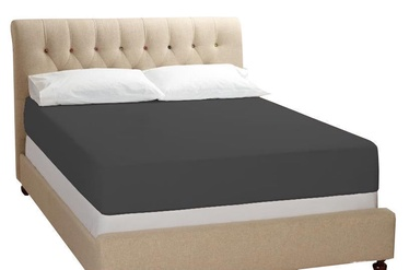 Bradley Bed Sheet Anthracite 180x200cm