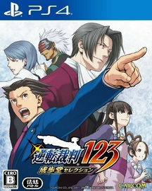 Игра для PlayStation 4 (PS4) Capcom Phoenix Wright: Ace Attorney Trilogy Asian Version
