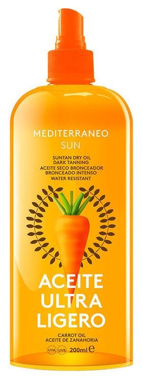 Mediterraneo Sun Carrot Oil Suntan Dry Oil 200ml