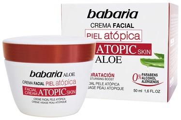 Babaria Atopic Skin Facial Cream With Aloe Vera 50ml