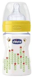 Chicco Well-Being PP Feeding Bottle 150ml 0 Yellow