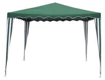 Besk Foldable Canopy 3x3m Green