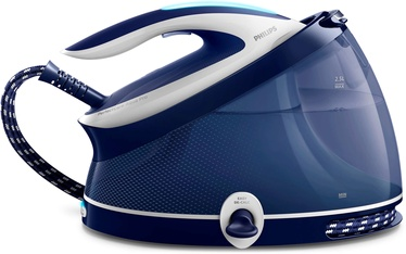Triikimissüsteem Philips IronPerfectCare Aqua Pro GC9324/20 White/Blue