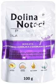 Dolina Noteci Premium Junior Rabbit Liver & Deer Tongues 100g