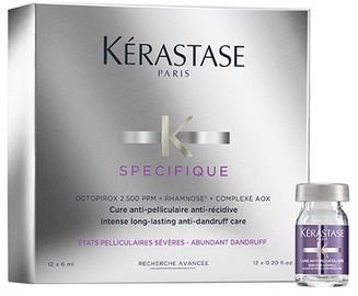 Plaukų koncentratas Kerastase Specifique Cure Anti-Pelliculaire, 12 x 6 ml