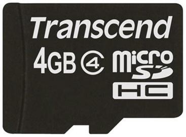 Transcend 4GB Micro SDHC Class 4
