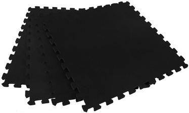 SMJ Puzzle Mat 124x124cm Black