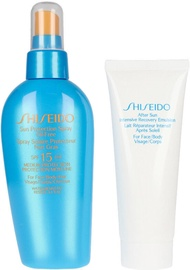 Shiseido Sun Protection Spray Oil-Free SPF15 150ml + After Sun Emulsion 75ml