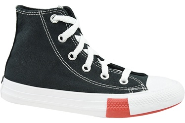 Converse Chuck Taylor All Star Junior Hi Top 366988C Black 33.5