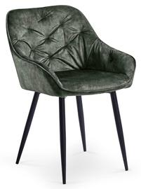 Ēdamistabas krēsls Halmar K418 Dark Green
