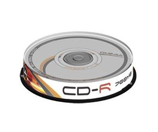 Kompaktinis diskas CD-R Omega Freestyle, 700 MB, 10 vnt.