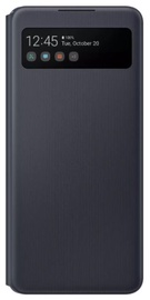 Nutikas vaatekott telefoni jaoks Samsung Galaxy A42 Black