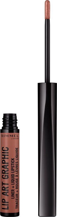 Rimmel London Lip Art Graphic Liquid Lipstick 1.8ml 720