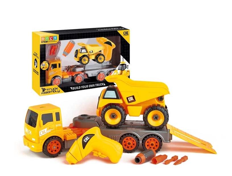 Žaislinė konstrukcinė mašinėlė csl200-39c