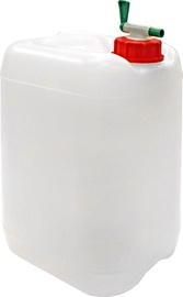Diana Can with Tap 10l White