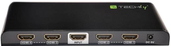Techly HDMI 2.0 Splitter 4-port