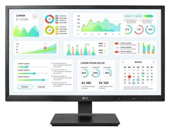 Монитор LG Zero Client 24CK550Z-BP, 24″, 14 ms