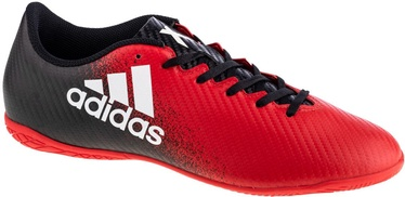 Adidas X 16.4 IN Shoes BB5734 Black/Red 44