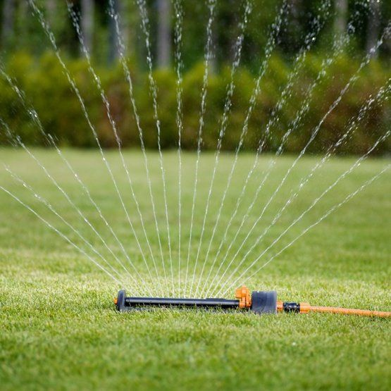 Fiskars Water Saving Sprinkler Metal Base