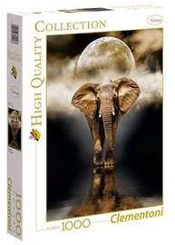 Пазл Clementoni High Quality Elephant 39416, 1000 шт.