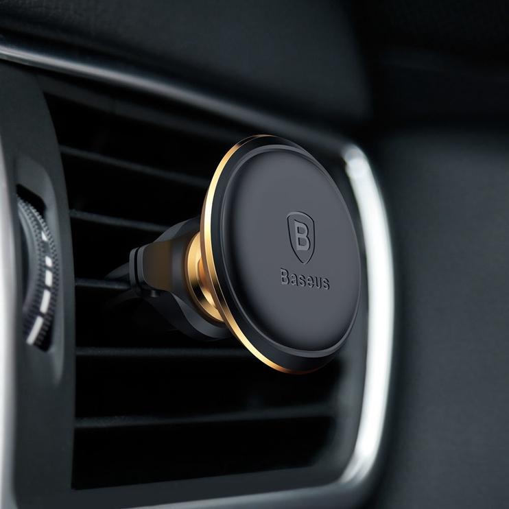 Baseus Magnetic Air Vent Car Holder Gold