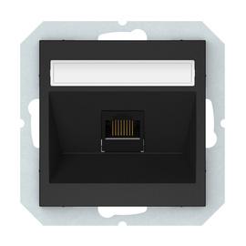 Kompiuterio lizdas Vilma QR1000, mat. juodos spalvos