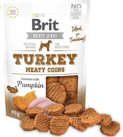 Gardums suņiem Brit Jerky Turkey Meaty Coins 200g