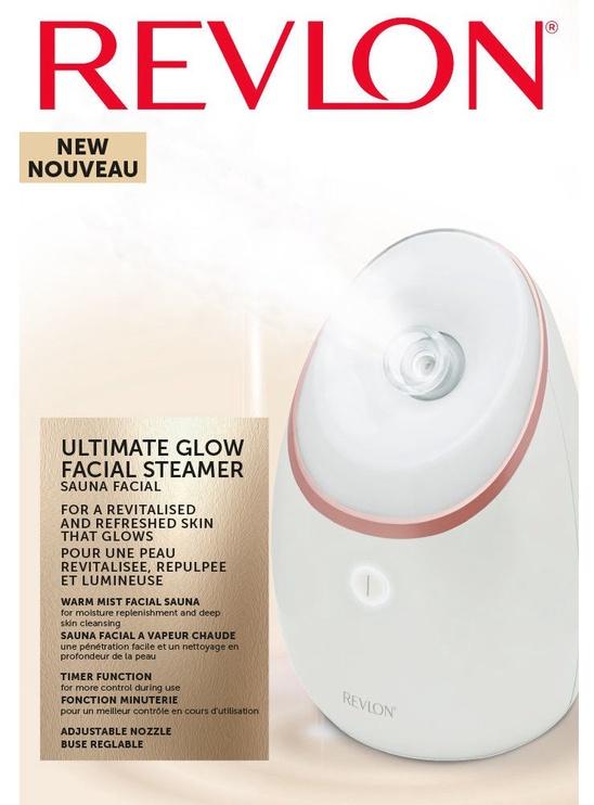 Revlon Ultimate Glow Facial Steamer RVSP3537E White
