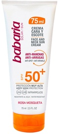Babaria Anti-Spot & Anti-Wrinkle Face And Neck Cream SPF50+ 75ml