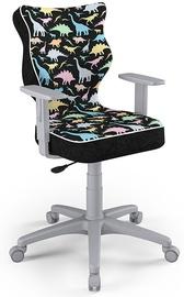 Детский стул Entelo Duo ST30, черный/серый, 375 мм x 1000 мм