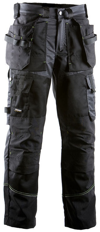 Dimex 676 Craftsmans Trousers Black/Grey 52