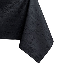 Скатерть AmeliaHome Vesta HMD Black, 155x220 см