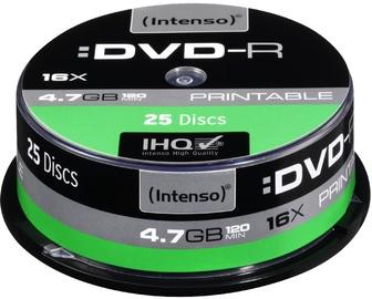 Intenso DVD-R Printable 16x 4.7GB 25pcs. Cake Box 4801654